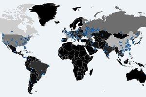"""Новый вирус распространяется с """"адской скоростью"""": в Сети появилась интерактивная карта заражений"""