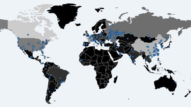 армагеддон на карте мира