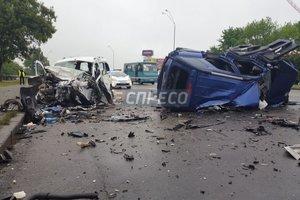 В Киеве произошло чудовищное ДТП: погибли три человека