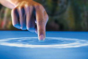 Создана краска, которая превращает обычную поверхность в сенсорную (видео)