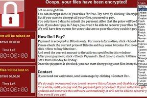 Большинство украинских госучреждений не пострадали от кибератаки WannaCrypt – Госспецсвязи