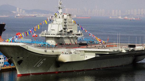 Интернет придумал забавное прозвище китайскому авианосцу. Фото из открытых источников