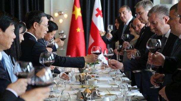 Грузия и Китайская республика заключили соглашение освободной торговле