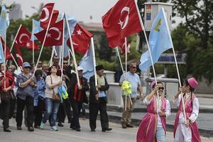 В Анкаре прошел митинг памяти жертв депортации крымских татар
