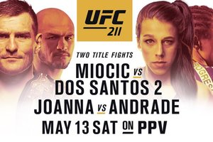 UFC211: расписание боев и трансляций бойцовского шоу