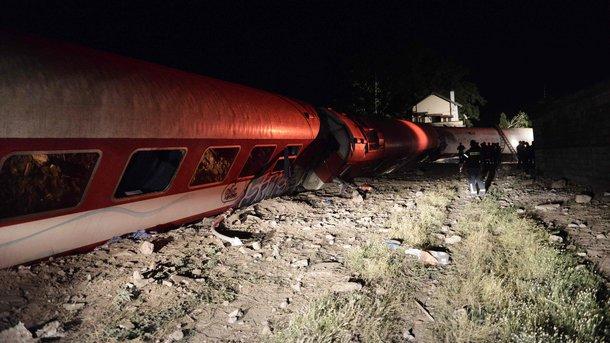 Железнодорожная трагедия вГреции унесла жизни 4 человек