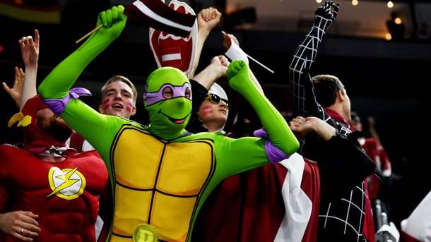 Матч Латвия— США побил исторический рекорд посещаемости наЧМ