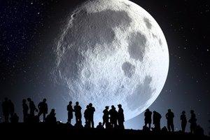 Китай запустил проект по изучению возможности жизни на Луне