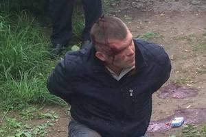 Стрельба в Каменском: у задержанного нашли удостоверение охранника Яроша