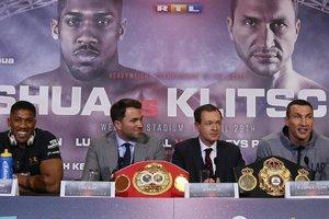 Реванш между Кличко и Джошуа может состояться 28 октября в Кардиффе