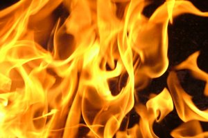 В Харькове женщина сгорела заживо