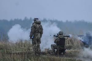 Боевики возобновили обстрелы позиций ВСУ из тяжелой артиллерии