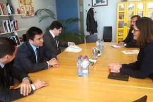 Климкин обсудил с торговым еврокомиссаром вопросы имплементации ЗСТ Украина-ЕС