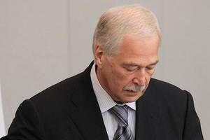 Грызлов озвучил позицию РФ на переговорах в Минске
