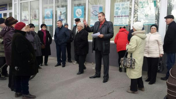 ВХерсонской области мужчину судили за компанию антиукраинского митинга