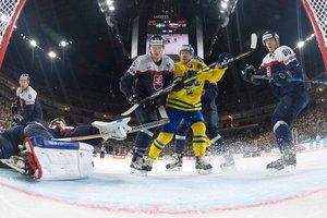 Хоккейный ЧМ-2017: обзор матча Швеция - Словакия - 4:2