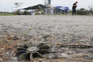 Боевики кинули гранату в наблюдателей ОБСЕ