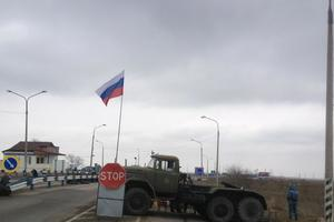 На границе Крыма задержали иностранцев