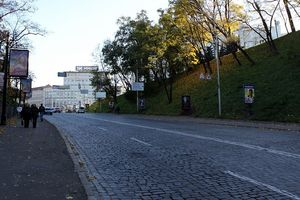В Киеве на два дня частично перекроют Владимирский спуск