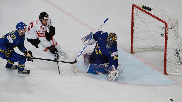 Сборная Швеции обыграла Швейцарию ивышла вполуфиналЧМ