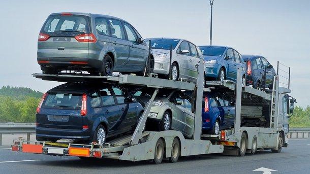 Украина увеличила импорт новых иномарок