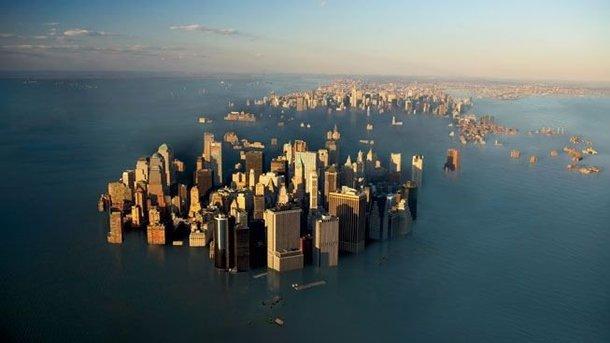 Предсказаны первые жертвы поднятия уровня моря