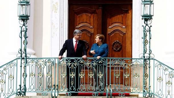 Порошенко беседовал с Меркель более двух часов