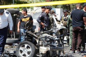 В Багдаде произошли два взрыва, погибли 10 человек