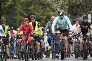 Из-за велогонки в Киеве ограничат движение всех видов транспорта