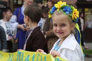 В Одессе в десятый раз состоялся мегамарш в вышиванках