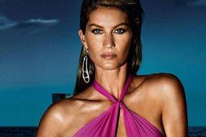 36-летняя модель Жизель Бюндхен снялась в яркой фотосессии для глянца