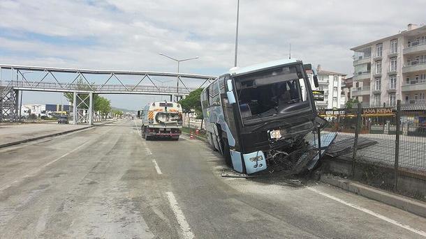 ВТурции разбился автобус сполитиками правящей партии, неменее 30 травмированных