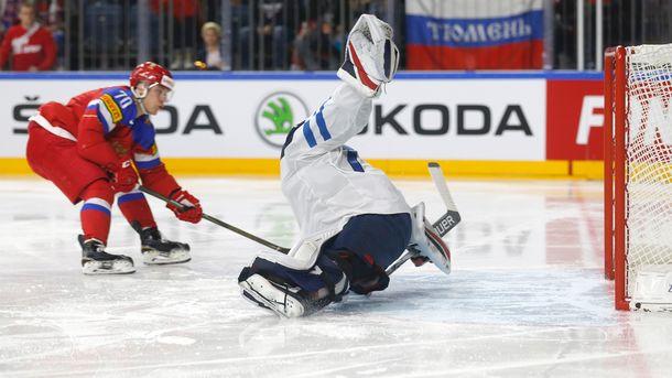 В ворота финнов влетело пять шайб. Фото AFP