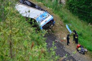 В Мексике автобус упал в ущелье: много жертв