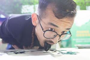 Китаец поразил мир своей техникой рисования
