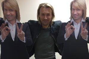 В Херсоне украли стенды с изображением Олега Винника