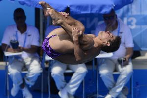 Чемпионат Европы по прыжкам в воду в Киеве пройдет без будущей мамы и экс-украинца