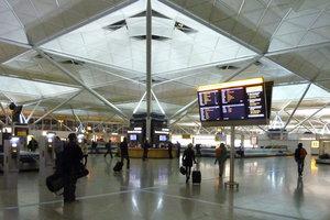 А аэропорту Лондона поймали возможного террориста