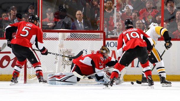 «Оттава» переиграла «Питтсбург» Малкина в6-м матче полуфинала плей-офф НХЛ