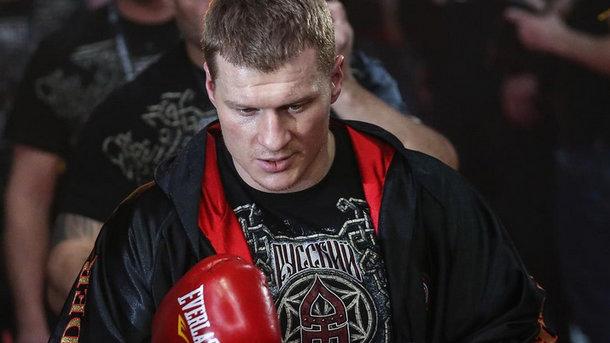 Украинский боксер стал соперником пойманного надопинге россиянина Поветкина