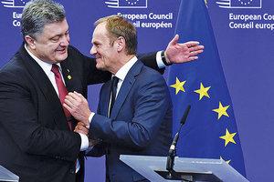 Саммитом G7: Порошенко и Туск скоординировали позиции