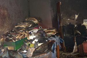 В Киеве мужчина погиб во время пожара в квартире