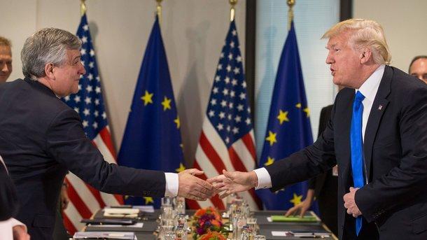 Трамп илидеры европейского союза согласились активизировать борьбу сИГ