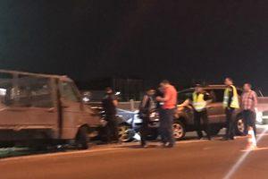 В Киеве водитель уснул за рулем и протаранил четыре авто