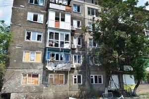 Обстрел боевиками Красногоровки продолжается