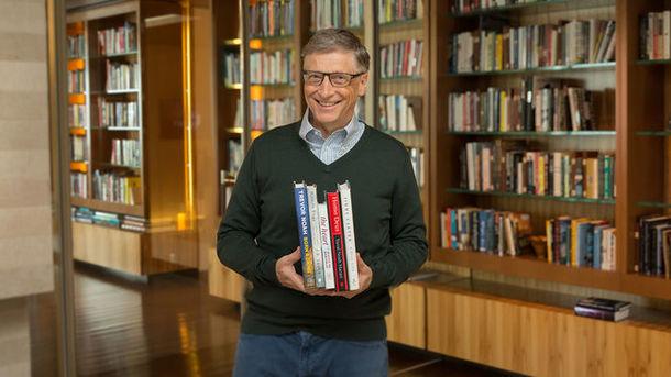 Билл Гейтс рекомендует литературу на лето. Фото: gatesnotes.com