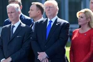 В Белом доме объяснили инцидент с Трампом и премьером Черногории на саммите НАТО