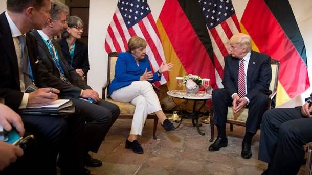 Канцлер Германии порекомендовала  США отказаться от«национальных шор»