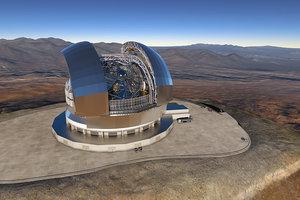 В Чили начали возведение крупнейшего в мире телескопа EELT за 1 млрд евро