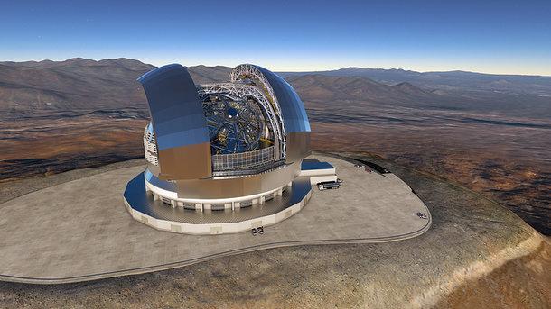 ВЧили строят крупнейший вмире телескоп EELT